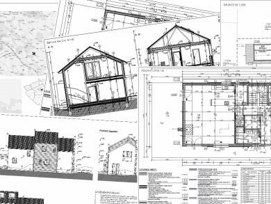 Atelier D.N.K. - projekt pro stavební povolení