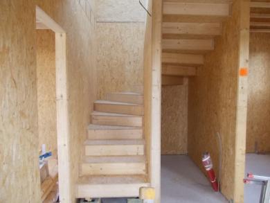 Konstrukce dřevěného schodiště